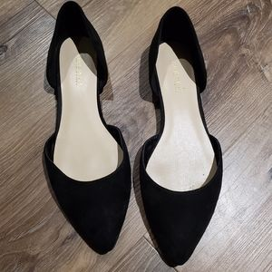Nine West D'orsay black flats 7
